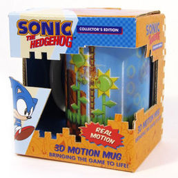 Sonic The Hedgehog 3D Motion 300ml Mug