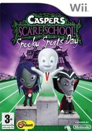 Caspers Scare School Spooky Sports Day Wii