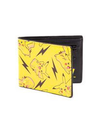 Pokemon All Over Pikachu Bifold Wallet