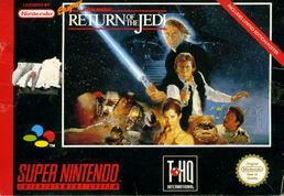 Super Star Wars Return of the Jedi SNES (käytetty)