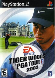 Tiger Woods PGA Tour 2003 PS2