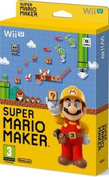 Super Mario Maker Wii U + Taidekirja