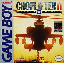 Choperlifter 2 Gameboy (käytetty)