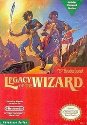 Legacy of the Wizard NES (käytetty)