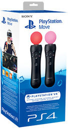 Sony PlayStation Move Motion Controller Pack ‐ohjaimet, PS4