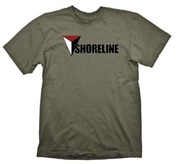 Uncharted Shoreline Army T-Shirt L-koko