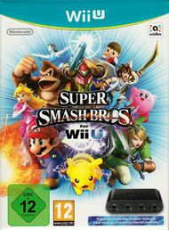 Super Smash Bros. Wii U + GameCube Controller adapter