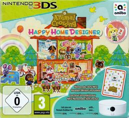 Animal Crossing Happy Home Designer + NFC reader/writer 3DS