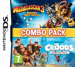 Madagascar 3 & The Croods DS