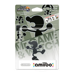Amiibo Super Smash Bros. Mr. Game & Watch Hahmo