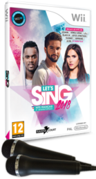 Let's Sing 2018 + 2 mikrofonia Wii / Wii U