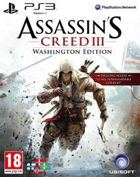 Assassins Creed III Washington Edition PS3