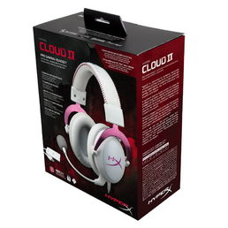 HyperX Cloud II Headset - Pink (PC/PS4/Xbox One)