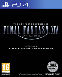 Final Fantasy XIV: A Realm Reborn & Heavensward PS4
