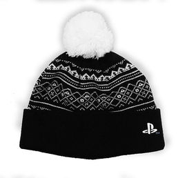 Playstation PS4 Black Beanie Numskull
