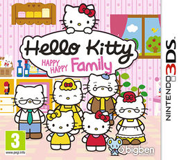 Hello Kitty Happy Happy Family 3DS
