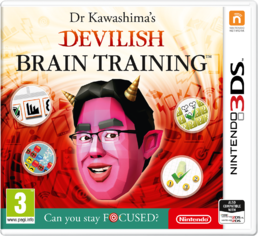 Dr Kawashimas Devilish Brain Training Can You Stay Focused? 3DS