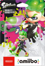 amiibo Splatoon Collection Inkling Boy 3 hahmo