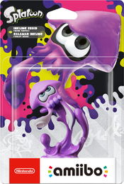 amiibo Splatoon Collection Squid 3 hahmo