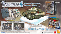 Valkyria Chronicles 4: Memoirs from Battle Premium Edition X1