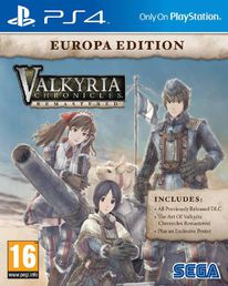 Valkyria Chronicles Remastered Europa Edition PS4