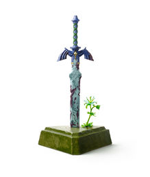 Legend of Zelda Breath of the Wild Master Sword Resurrection patsas