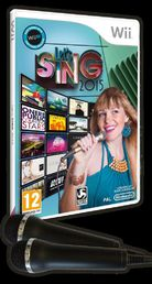 Let's Sing 2015 (sis. 2 mikrofonia) Wii