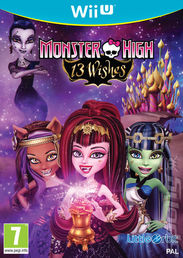 Monster High 13 Wishes Wii U