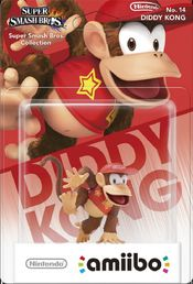 amiibo Super Smash Bros. Diddy Kong hahmo