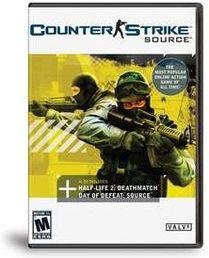 Counter Strike Source DVD PC