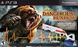 Cabela's Dangerous Hunts 2013 Gun Bundle PS3