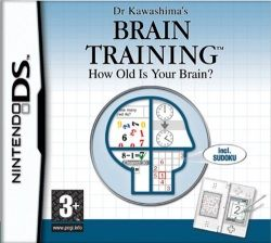 Brain Training: How Old Is Your Brain? Nintendo DS