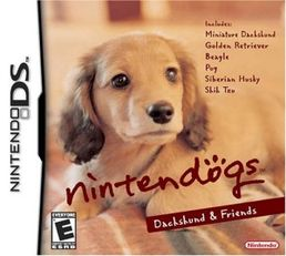 Nintendogs Dachshund & Friends Nintendo DS