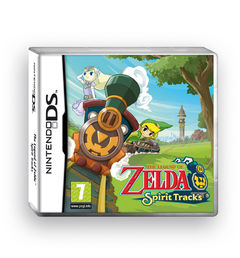The Legend of Zelda: Spirit Tracks Nintendo DS