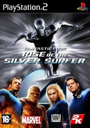 Fantastic Four: Rise of the Silver Surfer PS2