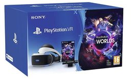 Sony Playstation Virtuaalilasit V2 Bundle (VR Worlds, Kamera, VR lasit)