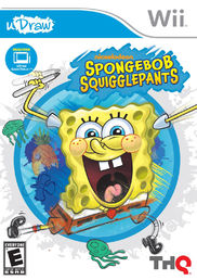 uDraw Spongebob Squigglepants Wii
