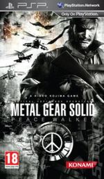 Metal Gear Solid Peace Walker PSP