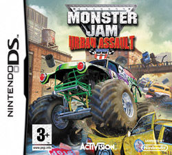 Monster Jam Urban Assault Nintendo DS