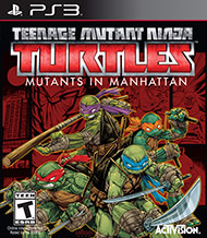 Teenage Mutant Ninja Turtles: Mutants In Manhattan PS3