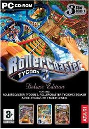 Rollercoaster Tycoon 3 Deluxe PC