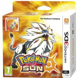 Pokemon Sun Fan Edition 3DS