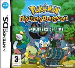 Pokemon Mystery Dungeon: Explorers of Time DS
