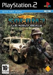 SOCOM 3 Platinum PS2