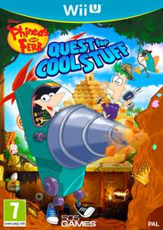 Phineas And Ferb: Quest for Cool Stuff Wii U