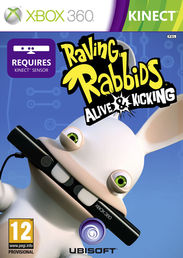 Raving Rabbids Alive and Kicking Xbox 360