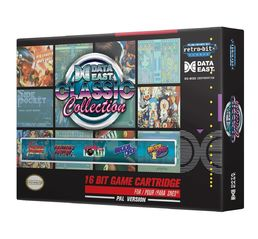 Retro-Bit Data East Classic Collection SNES Retro