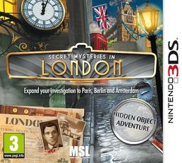 Secret Mysteries In London 3DS