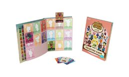 Animal Crossing amiibo cards Series 4 Collectors Album + 3 korttia