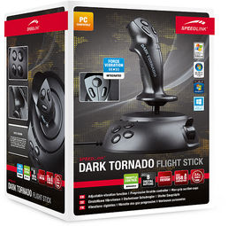 Dark Tornado Flight Stick Speedlink